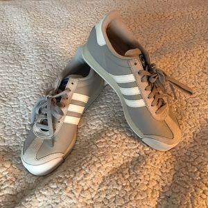 adidas Shoes - ADIDAS SAMOA grey with white stripes